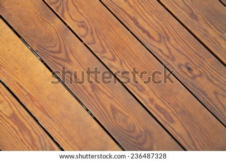 Light wooden planks background - stock photo