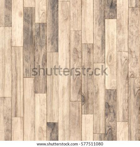Light Wooden Texture Parquet Background Beige Seamless Pattern