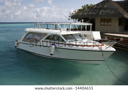 Light Yacht - stock photo