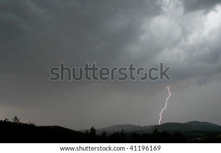 Lightening - stock photo