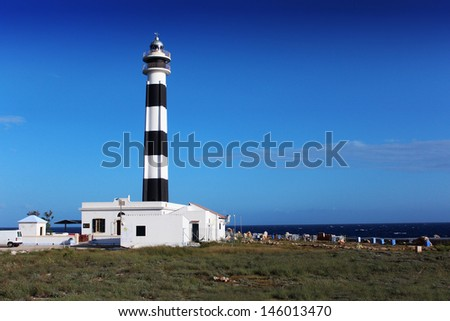 Lighthouse at day time.
