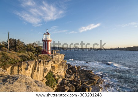 Lighthouse at South Head Sydney Australia.