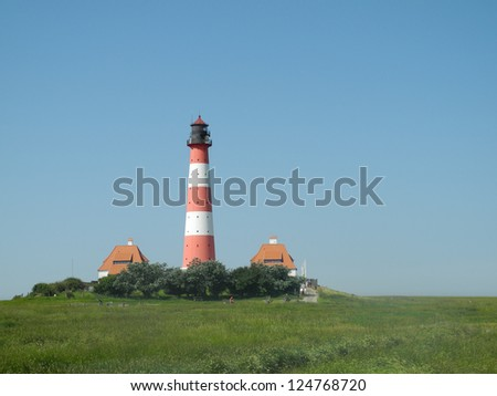 Lighthouse at Westerhever