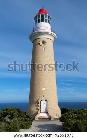 lighthouse - Australia Flinders Chase National Park,? Cape du Couedic Road,? Lightstation - stock photo