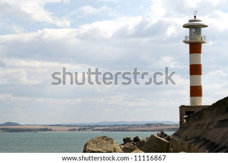 Lighthouse by the coast
