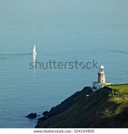 lighthouse, Howth, County Dublin, Ireland