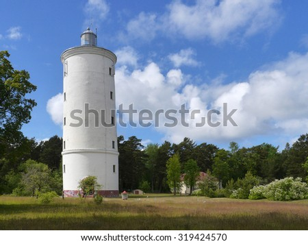 Lighthouse in Latvia