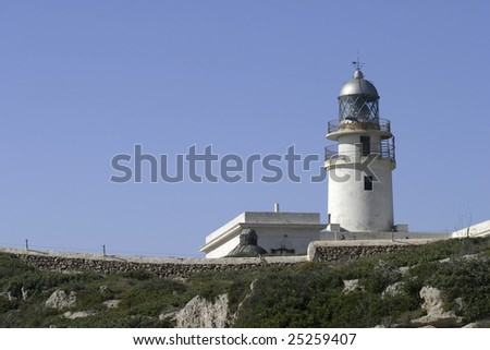 Lighthouse in Menorca
