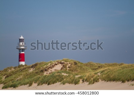 Lighthouse in Nieuwpoort, Belgium