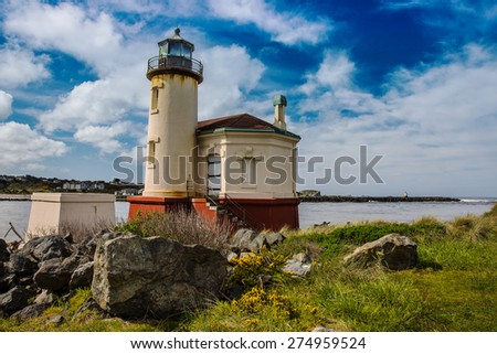 lighthouse in Oregon coast