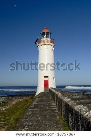 Lighthouse in Port Fairy, Australia