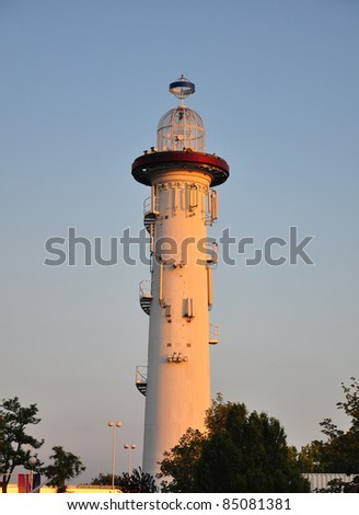 Lighthouse in Vienna