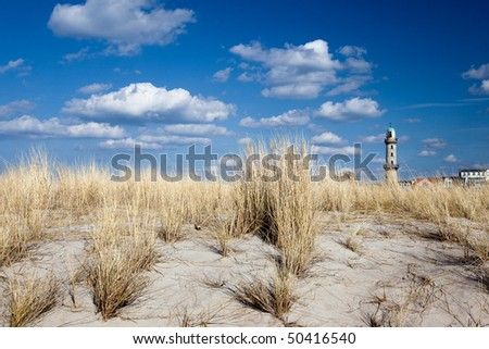 Lighthouse in Warnem�¼nde