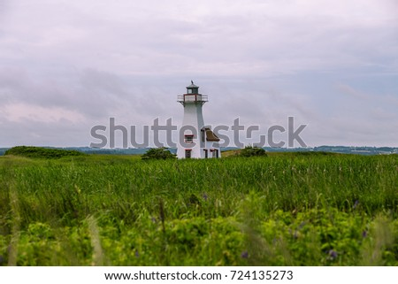 Lighthouse in West Prince Edward Island