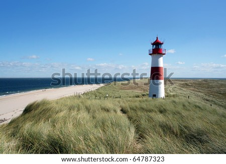 Lighthouse Island Sylt (Germany)