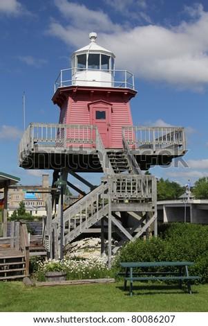 Lighthouse museum - stock photo
