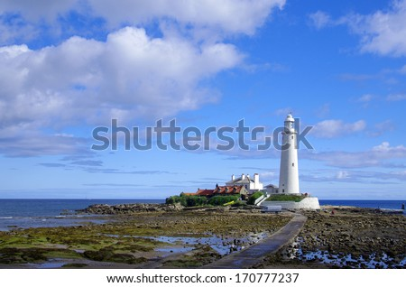 Lighthouse north of Newcastle