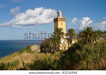 Lighthouse of Cap Spartel, Tanger Morocco