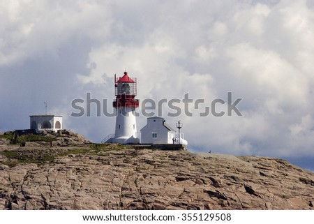 lighthouse of Cape lindesnes, Norway