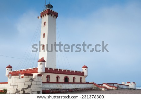 Lighthouse of La Serena, Chile - stock photo
