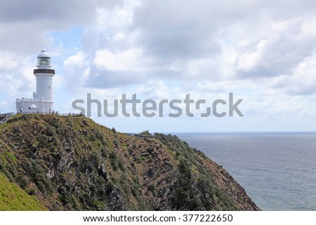 Lighthouse on Cape Byron, New South Wales, Australia
