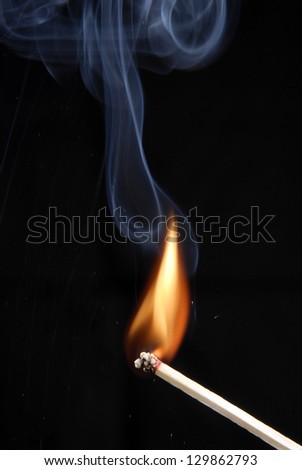 lighting a match on black background. & Light A Match Stock Images Royalty-Free Images u0026 Vectors ... azcodes.com
