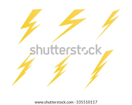 lighting, electric charge icon  symbol illustration jpg version