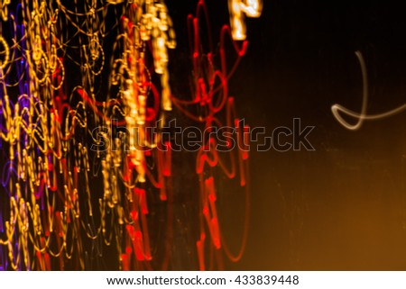 Lighting, motion blur.Abstract light,Light line,Light and Colour,Night light