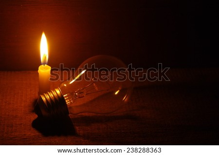 lighting, with candle, tungsten