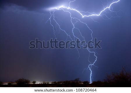 Lightning 02 - stock photo