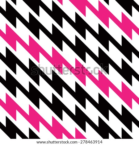 Lightning Bolt Zigzag Pattern with alternating stripes repeats seamlessly.