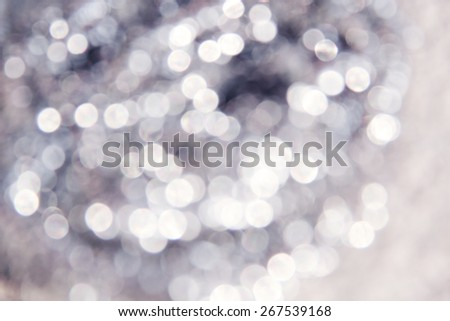 Lights bokeh background  - stock photo
