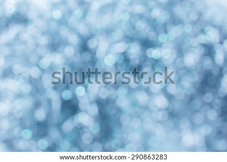 Lights bokeh background abstract  twinkled bright background with bokeh defocused with silver lights