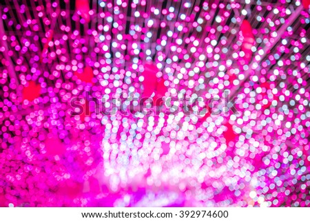 lights of Pink bokeh background - for your design - stock photo