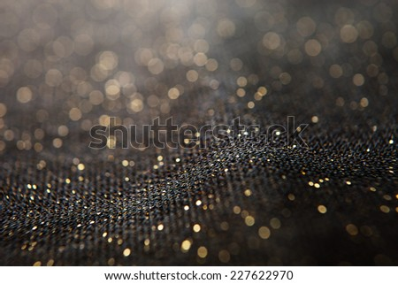 Lights on black background.  - stock photo