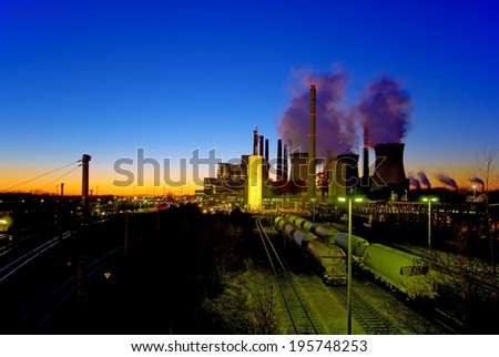 lignite-fired power plant