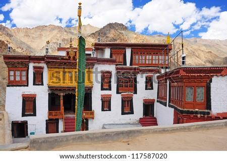 Likir Monastery, Ladakh, India - stock photo