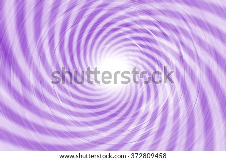 Lilac spiral, photographed in circular movement at long exposure for this motion line effect - stock photo