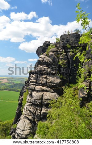 Lilienstein - Saxon Switzerland, GERMANY