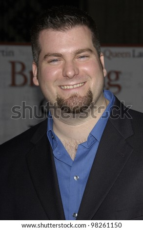Lilo & Stitch writer/director DEAN DeBLOIS at the Hollywood premiere of Bringing Down The House. 02MAR2003.   Paul Smith / Featureflash - stock photo