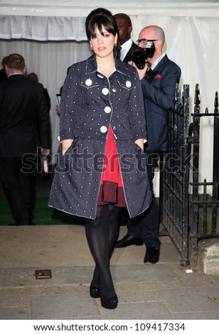 Lily Cole arriving for the Glamour Women Of The Year Awards 2012, at Berkeley Square, London. 29/05/2012 Picture by: Alexandra Glen / Featureflash - stock photo