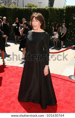 Lily Tomlin  at the 2010 Primetime Creative Arts Emmy Awards,  Nokia Theater L.A. Live, Los Angeles, CA. 08-21-10
