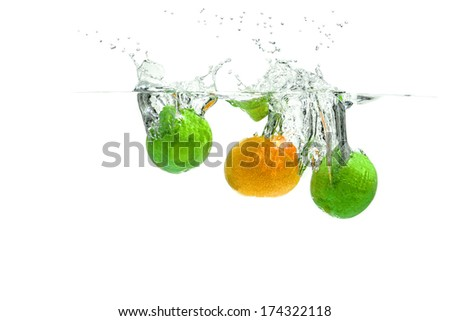 Lime and Nectarine