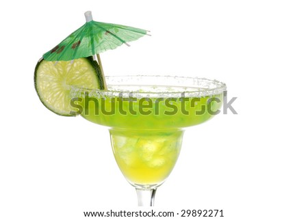 Lime flavored  margarita