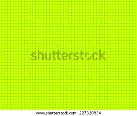 Lime green comic pop art background abstract texture dots