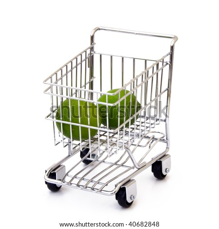Lime in shopping cart
