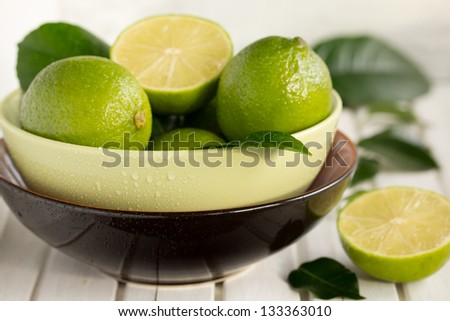 Limes and lemons in the Cup.