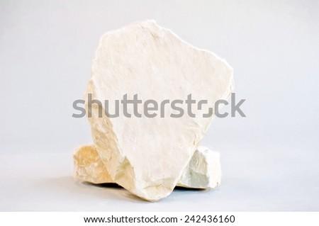 limestone blank  - illustration based on own photo image - stock photo