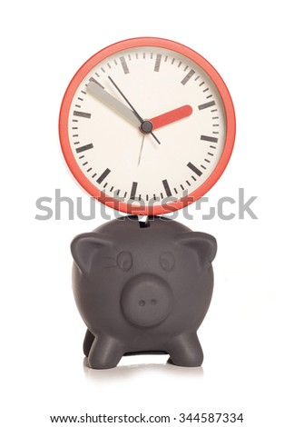 Limited time only black friday offer cutout - stock photo