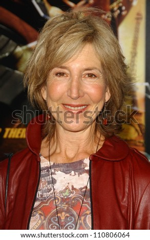 "Lin Shaye at the Los Angeles Premiere of ""Rush Hour 3"". Mann's Chinese Theater, Hollywood, CA. 07-30-07 - stock photo"